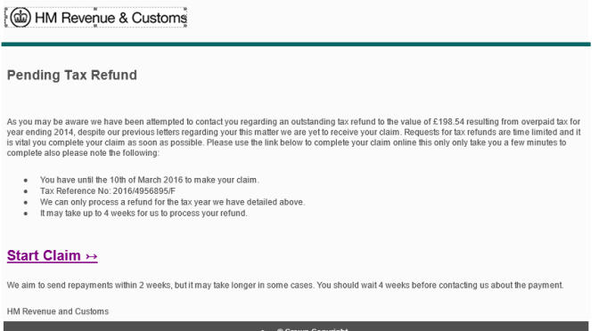 Hunter gee holroyd hmrc tax refund emails how to identify a fake hunter gee holroyd - Hm revenue office address ...