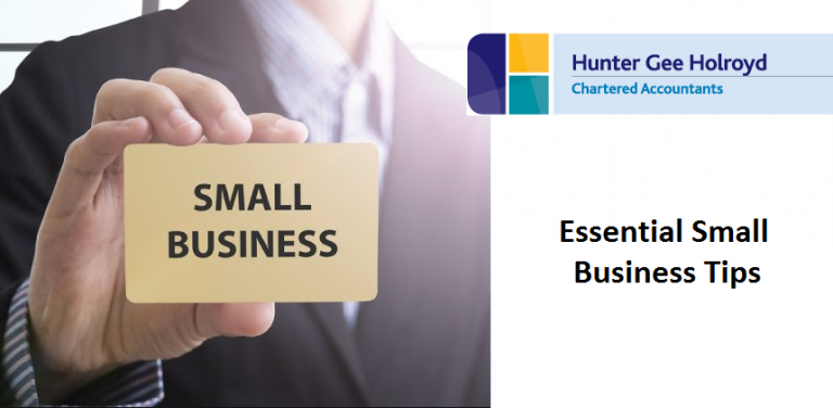 SMall Business Tips - Financial Forecasting to Accountacy Services