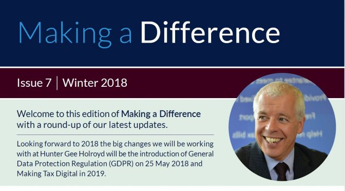 Making a Difference Winter 2018