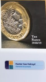 Tax rate Card 2018-19 cover